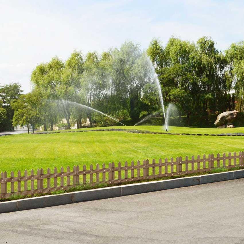 Садовые оградки из ДПК