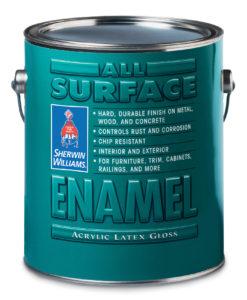 All Surface Enamel Acrylic Latex Interior/Exterior