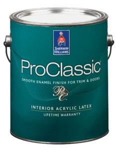 ProClassic Waterborne Interior Acrylic Satin