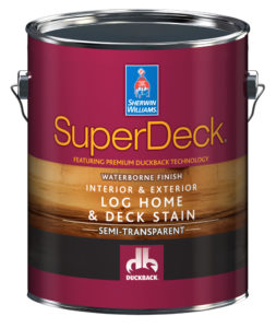 SuperDeck® Log Home & Deck Stain Interior/Exterior