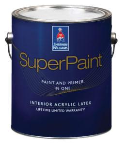 SuperPaint Interior Acrylic Latex Flat