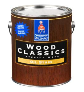 Wood Classics Interior Oil Stain